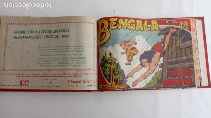 Tebeos: BENGALA 2º SERIE ORIGINAL COMPLETA 1 AL 45 EN MUY BUEN ESTADO, VER TODAS LAS PORTADAS - Foto 65 - 224823047
