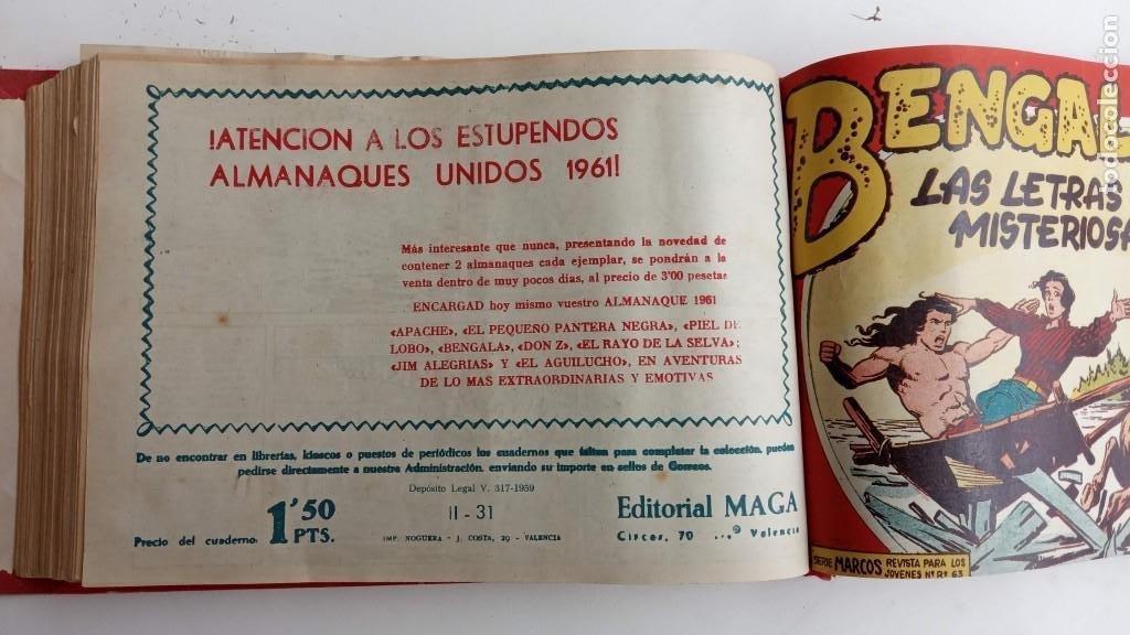 Tebeos: BENGALA 2º SERIE ORIGINAL COMPLETA 1 AL 45 EN MUY BUEN ESTADO, VER TODAS LAS PORTADAS - Foto 68 - 224823047