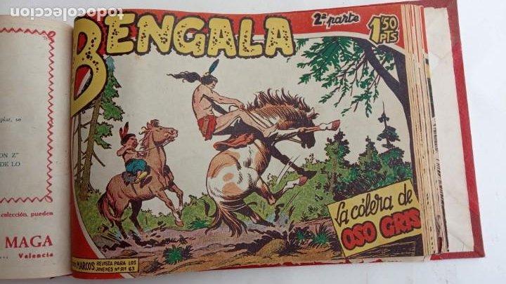 Tebeos: BENGALA 2º SERIE ORIGINAL COMPLETA 1 AL 45 EN MUY BUEN ESTADO, VER TODAS LAS PORTADAS - Foto 73 - 224823047