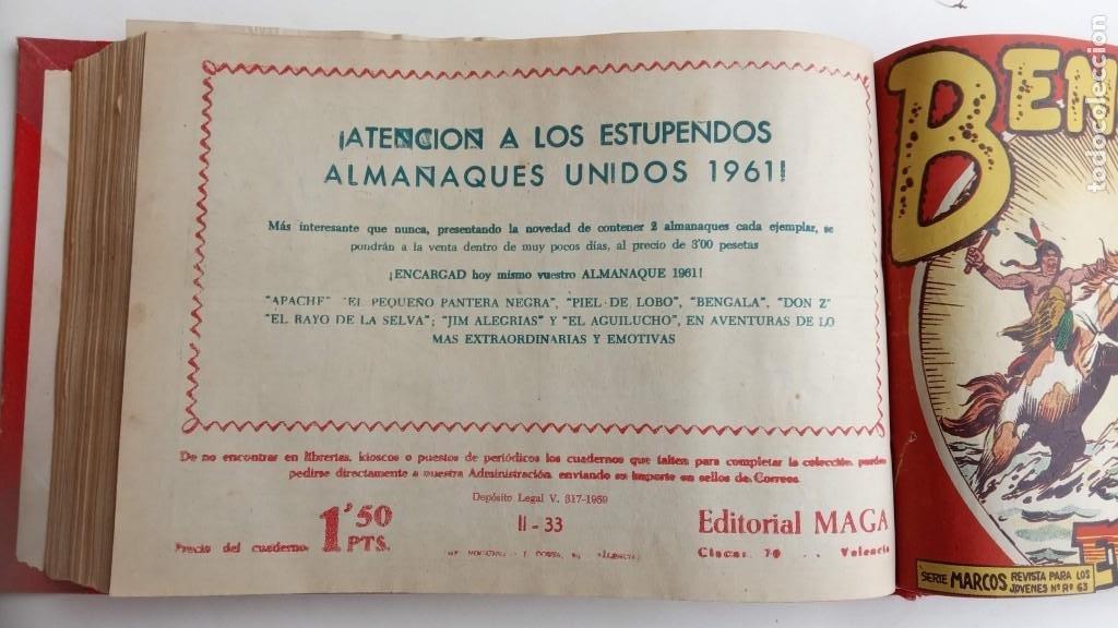 Tebeos: BENGALA 2º SERIE ORIGINAL COMPLETA 1 AL 45 EN MUY BUEN ESTADO, VER TODAS LAS PORTADAS - Foto 78 - 224823047