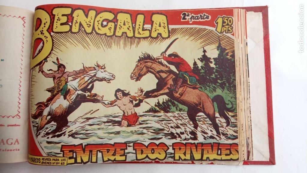 Tebeos: BENGALA 2º SERIE ORIGINAL COMPLETA 1 AL 45 EN MUY BUEN ESTADO, VER TODAS LAS PORTADAS - Foto 79 - 224823047