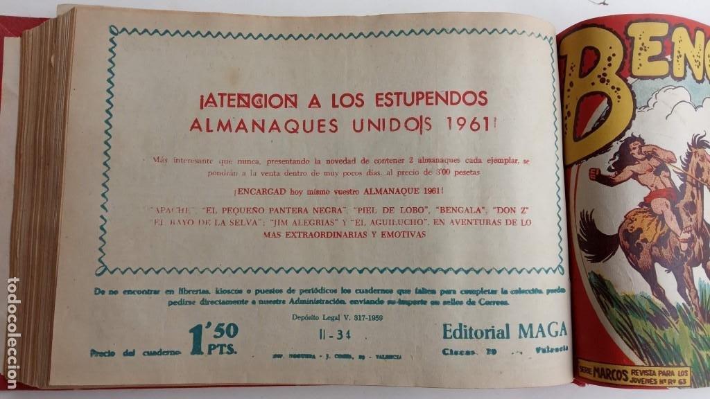 Tebeos: BENGALA 2º SERIE ORIGINAL COMPLETA 1 AL 45 EN MUY BUEN ESTADO, VER TODAS LAS PORTADAS - Foto 84 - 224823047