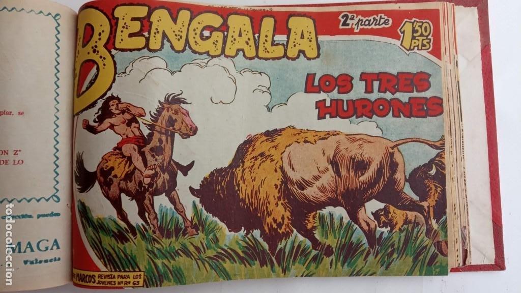 Tebeos: BENGALA 2º SERIE ORIGINAL COMPLETA 1 AL 45 EN MUY BUEN ESTADO, VER TODAS LAS PORTADAS - Foto 85 - 224823047
