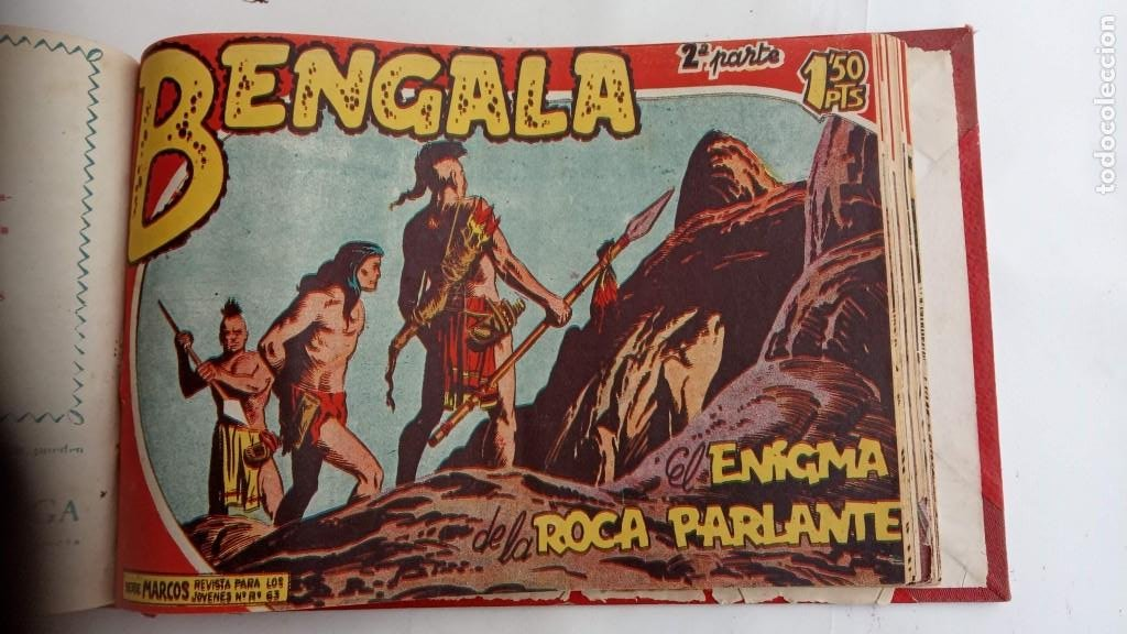 Tebeos: BENGALA 2º SERIE ORIGINAL COMPLETA 1 AL 45 EN MUY BUEN ESTADO, VER TODAS LAS PORTADAS - Foto 88 - 224823047