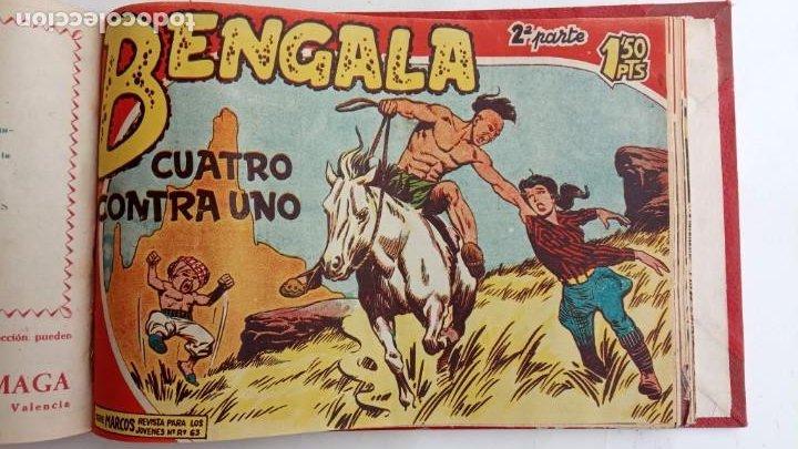 Tebeos: BENGALA 2º SERIE ORIGINAL COMPLETA 1 AL 45 EN MUY BUEN ESTADO, VER TODAS LAS PORTADAS - Foto 92 - 224823047