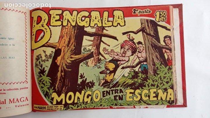 Tebeos: BENGALA 2º SERIE ORIGINAL COMPLETA 1 AL 45 EN MUY BUEN ESTADO, VER TODAS LAS PORTADAS - Foto 102 - 224823047