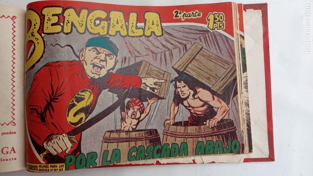 Tebeos: BENGALA 2º SERIE ORIGINAL COMPLETA 1 AL 45 EN MUY BUEN ESTADO, VER TODAS LAS PORTADAS - Foto 106 - 224823047