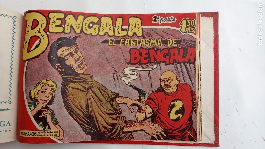Tebeos: BENGALA 2º SERIE ORIGINAL COMPLETA 1 AL 45 EN MUY BUEN ESTADO, VER TODAS LAS PORTADAS - Foto 111 - 224823047