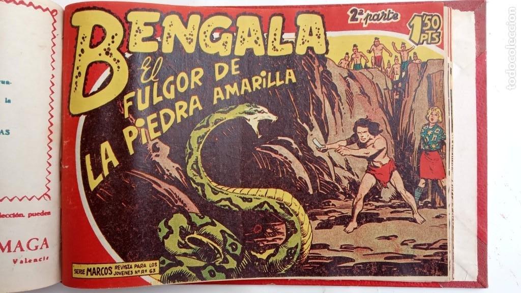 Tebeos: BENGALA 2º SERIE ORIGINAL COMPLETA 1 AL 45 EN MUY BUEN ESTADO, VER TODAS LAS PORTADAS - Foto 116 - 224823047