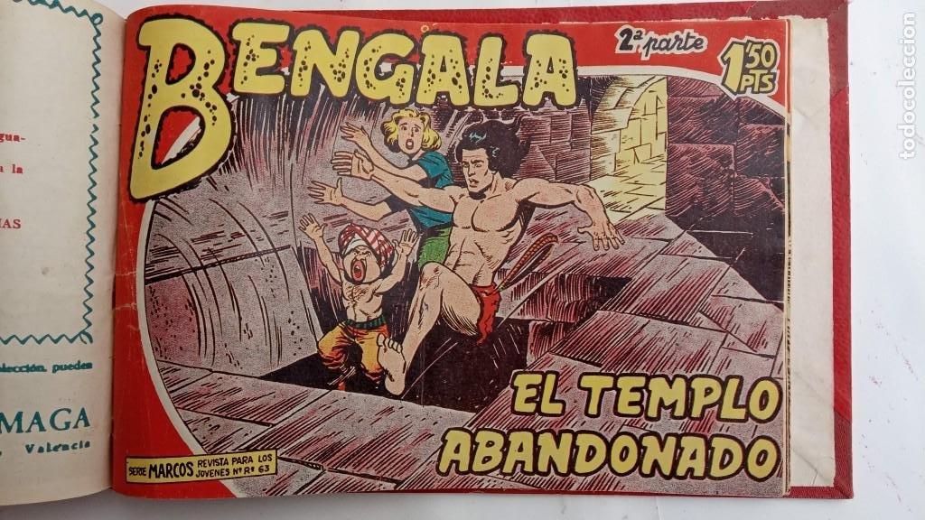 Tebeos: BENGALA 2º SERIE ORIGINAL COMPLETA 1 AL 45 EN MUY BUEN ESTADO, VER TODAS LAS PORTADAS - Foto 120 - 224823047