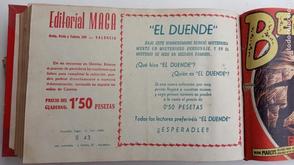 Tebeos: BENGALA 2º SERIE ORIGINAL COMPLETA 1 AL 45 EN MUY BUEN ESTADO, VER TODAS LAS PORTADAS - Foto 124 - 224823047