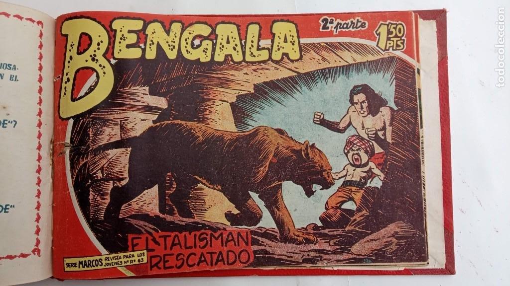 Tebeos: BENGALA 2º SERIE ORIGINAL COMPLETA 1 AL 45 EN MUY BUEN ESTADO, VER TODAS LAS PORTADAS - Foto 125 - 224823047