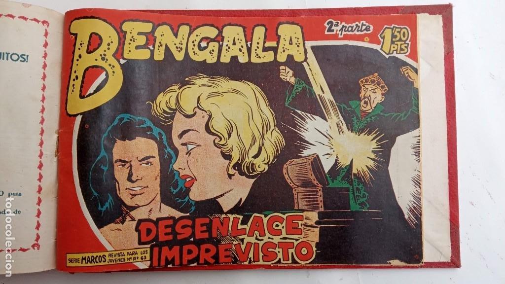 Tebeos: BENGALA 2º SERIE ORIGINAL COMPLETA 1 AL 45 EN MUY BUEN ESTADO, VER TODAS LAS PORTADAS - Foto 129 - 224823047