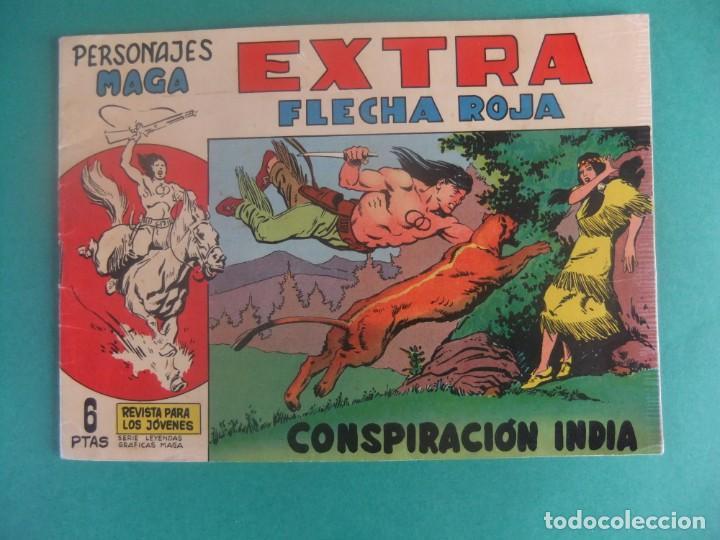 PERSONAJES MAGA EXTRA Nº 1 FLECHA ROJA EDITORIAL MAGA (Tebeos y Comics - Maga - Flecha Roja)