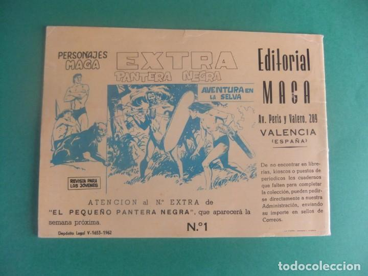 Tebeos: PERSONAJES MAGA EXTRA Nº 1 FLECHA ROJA EDITORIAL MAGA - Foto 2 - 224843882