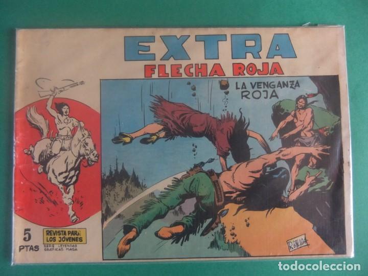 PERSONAJES MAGA EXTRA Nº 5 FLECHA ROJA EDITORIAL MAGA (Tebeos y Comics - Maga - Flecha Roja)