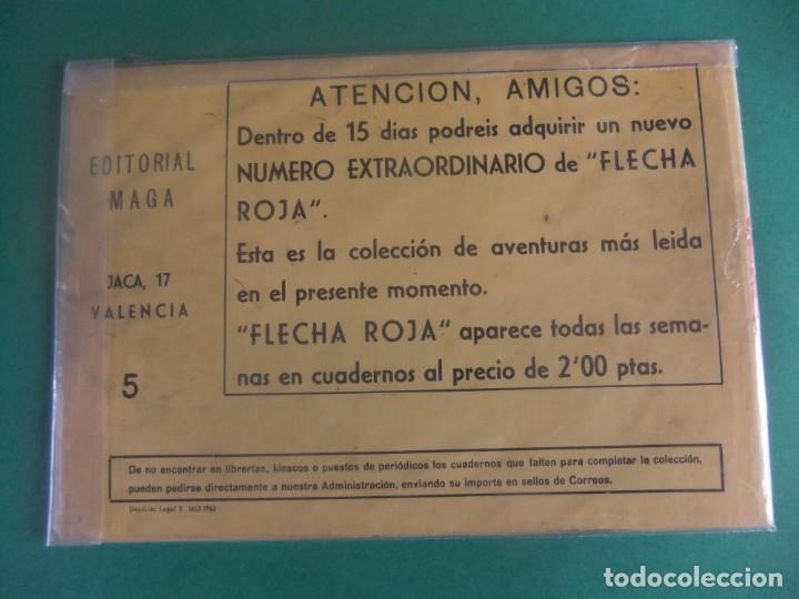 Tebeos: PERSONAJES MAGA EXTRA Nº 5 FLECHA ROJA EDITORIAL MAGA - Foto 2 - 224843991