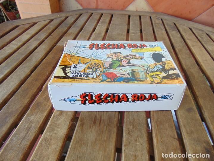 FLECHA ROJA REEDICION FACSÍMIL CAJA COMPLETA 79 NÚMEROS CÓMICS NUEVOS, CAJA CON ALGUNA ROTURA MAGA (Tebeos y Comics - Maga - Flecha Roja)