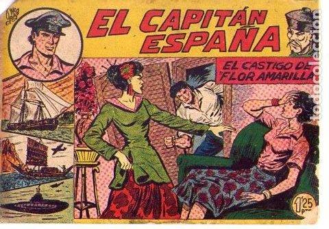 EL CAPITAN ESPAÑA Nº 32 ULTIMO (Tebeos y Comics - Maga - Otros)