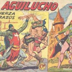 Tebeos: EL AGUILUCHO 66. EDITORIAL MAGA. DIBUJOS DE MANUEL GAGO. Lote 225165970