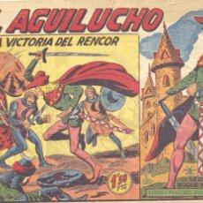Tebeos: EL AGUILUCHO 40. EDITORIAL MAGA. DIBUJOS DE MANUEL GAGO. Lote 225168260