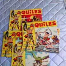 Tebeos: AQUILES.LOTE DE 11 TEBEOS.ORIGINALES MAGA AÑO 1962 ESTÁN EL Nº 1-2-3... RAROS Y MUY DIFÍCILES. Lote 225182180