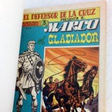 Tebeos: MARCO EL GLADIADOR.COMPLETA 6 TEBEOS+ Nº1 QUINTIN PAJECILLO VALIENTE Y ATLETAS Nº 1 8 MAGA DIFÏCILES. Lote 225580098