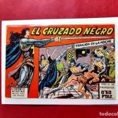 Tebeos: EL CRUZADO NEGRO Nº 1 -ORIGINAL -EXCELENTE ESTADO. Lote 225845720