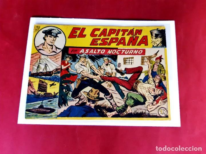 EL CAPITAN ESPAÑA Nº 13 -ORIGINAL -M.GAGO-IMPECABLE ESTADO (Tebeos y Comics - Maga - Otros)