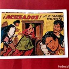 Tebeos: EL CAPITAN VALIENTE Nº 18 EDITORIAL MAGA ORIGINAL-IMPECABLE ESTADO. Lote 226015430
