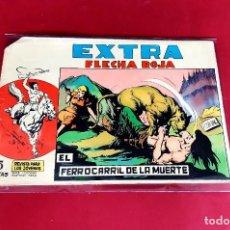 BDs: FLECHA ROJA EXTRA Nº 6 ORIGINAL EN BUEN ESTADO/ PICO CORTADO. Lote 226273700
