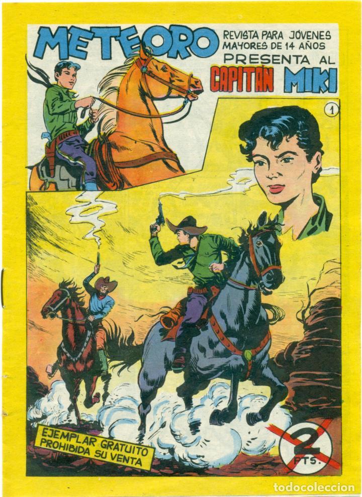 CAPITAN MIKI DE MAGA ORIGINAL Y COMPLETA 72 EJEMPLARES (Tebeos y Comics - Maga - Otros)