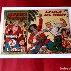 Tebeos: HOMBRES HEROICOS Nº 22 MAGA ORIGINAL -EXCELENTE ESTADO. Lote 226499700