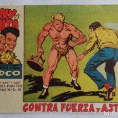 Tebeos: TONY Y ANITA, LOS ASES DEL CIRCO, Nº 30. ORIGINAL DE MAGA. LITERACOMIC.. Lote 226834215