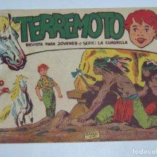 Tebeos: MAGA TERREMOTO SERIE LA CUADRILLA ORIGINAL Nº 11. Lote 226915597