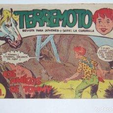 Tebeos: MAGA TERREMOTO SERIE LA CUADRILLA ORIGINAL Nº 12. Lote 226915680