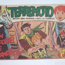 Tebeos: MAGA TERREMOTO SERIE LA CUADRILLA ORIGINAL Nº 13. Lote 226915780