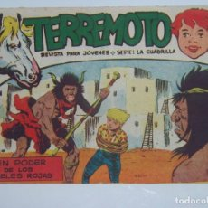 Tebeos: MAGA TERREMOTO SERIE LA CUADRILLA ORIGINAL Nº 18. Lote 226918440
