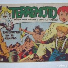 Tebeos: MAGA TERREMOTO SERIE LA CUADRILLA ORIGINAL Nº 21. Lote 226918645