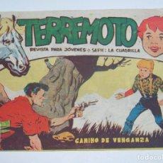 Tebeos: MAGA TERREMOTO SERIE LA CUADRILLA ORIGINAL Nº 24. Lote 226918905