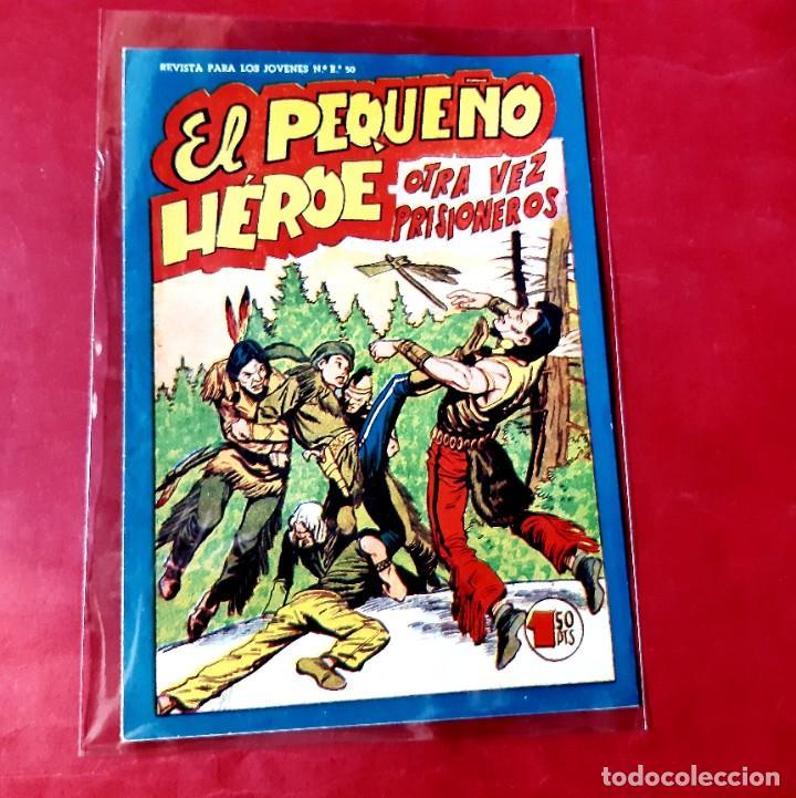 EL PEQUEÑO HEROE Nº 106 ORIGINAL EDITORIAL MAGA 1958-IMPECABLE ESTADO (Tebeos y Comics - Maga - Pequeño Héroe)