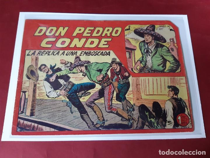 DON PEDRO CONDE Nº 12 -ORIGINAL-EXCELENTE ESTADO / PICO CORTADO (Tebeos y Comics - Maga - Otros)