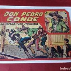 Tebeos: DON PEDRO CONDE Nº 12 -ORIGINAL-EXCELENTE ESTADO / PICO CORTADO. Lote 227218585