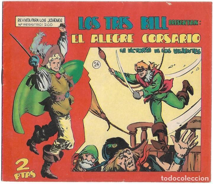 EL ALEGRE CORSARIO Nº 24 (PENÚLTIMO) ORIGINAL EN MUY BUEN ESTADO-IMPORTANTE LEER Y VER FOTOS (Tebeos y Comics - Maga - Otros)