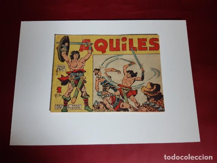 AQUILES - Nº 1 - EDITORIAL MAGA 1962-BUEN ESTADO (Tebeos y Comics - Maga - Otros)