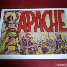 Tebeos: APACHE Nº 1 -ORIGINAL -EXCELENTE ESTADO -PUBLICIDAD LIBRERIA CHICOTAX-TANGER. Lote 227565030