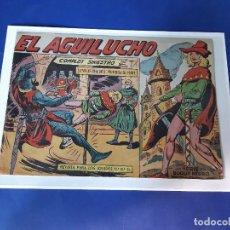 Tebeos: EL AGUILUCHO Nº 1 EDITORIAL MAGA ORIGINAL-EXCELENTE ESTADO. Lote 227859720