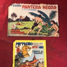 Tebeos: EDITORIAL MAGA PANTERA NEGRA Y METEORO. Lote 227978995