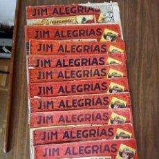 Giornalini: JIM ALEGRÍAS. LOTE CON LOS NÚMEROS FOTOGRAFIADOS. Lote 229159493