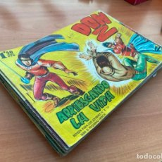 Livros de Banda Desenhada: DON Z PRIMERA SERIE LOTE 34 COMICS ORIGINAL (ED. MAGA) (COIB166) RESERVADO. Lote 229895375